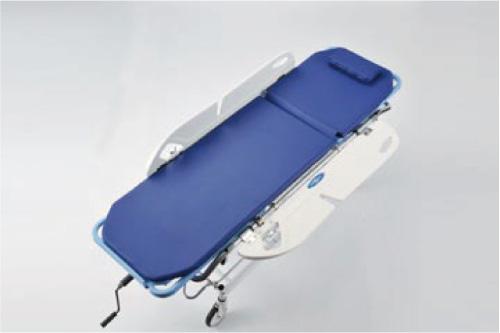 サイドレールはベッドとの橋渡しとなるトランスファーボードとしても使用可能