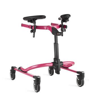 歩行訓練車 リフトン ペーサー Lサイズ スタンダードフレーム、標準車輪ベース、ロングアームサポート