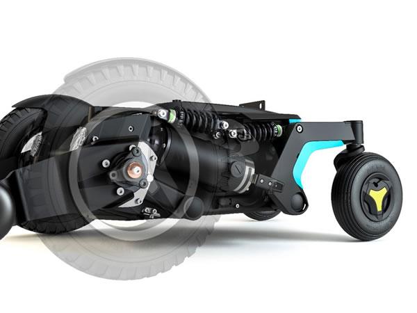 F3 コルプス 容易な取り回し、安定の4輪独立のサスペンション