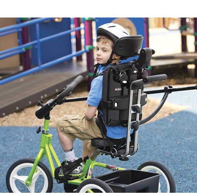 トライサイクルは、使用者毎の特別なニーズに対応する豊富なオプションがあります。