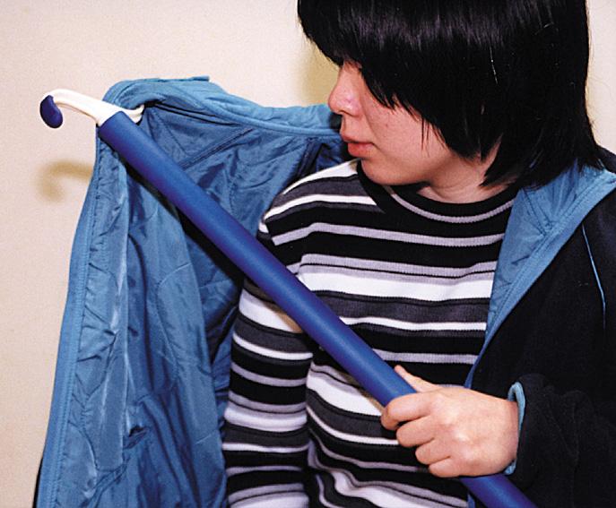 更衣を補助する用具