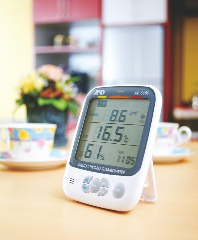 環境温湿度計