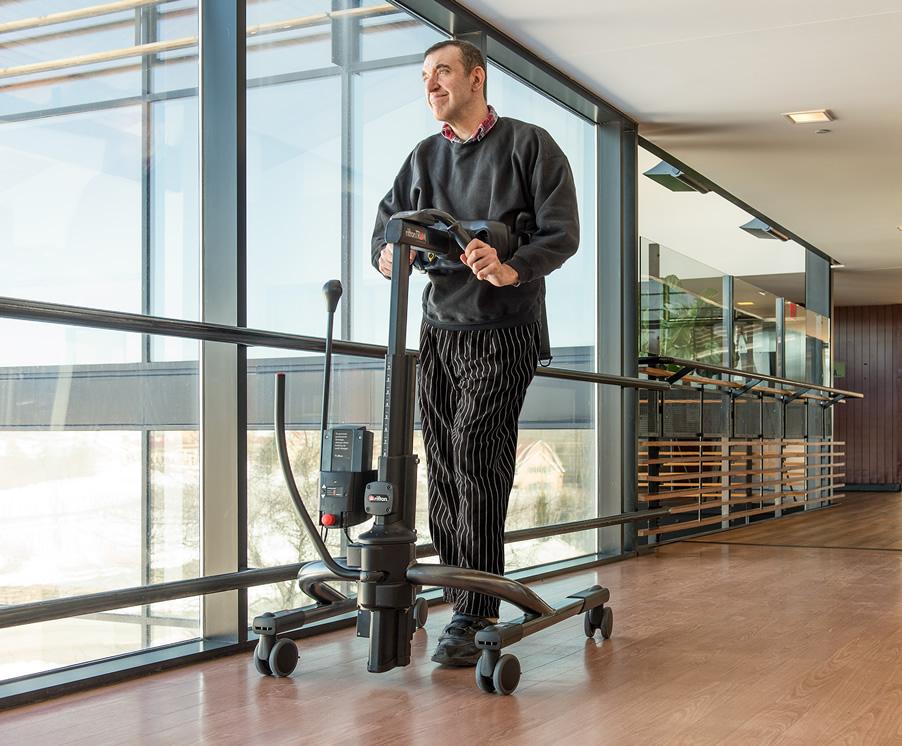 歩行訓練器としてのトラム