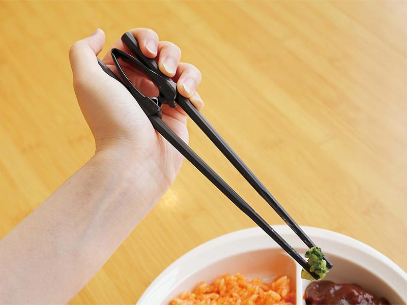 楽々箸クリップタイプ樹脂製
