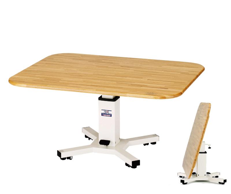昇降式多目的テーブル 2 ペダルタイプ (写真右下は収納タイプ)