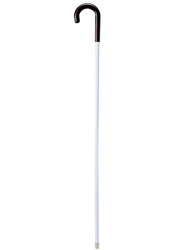 シンプルな白杖