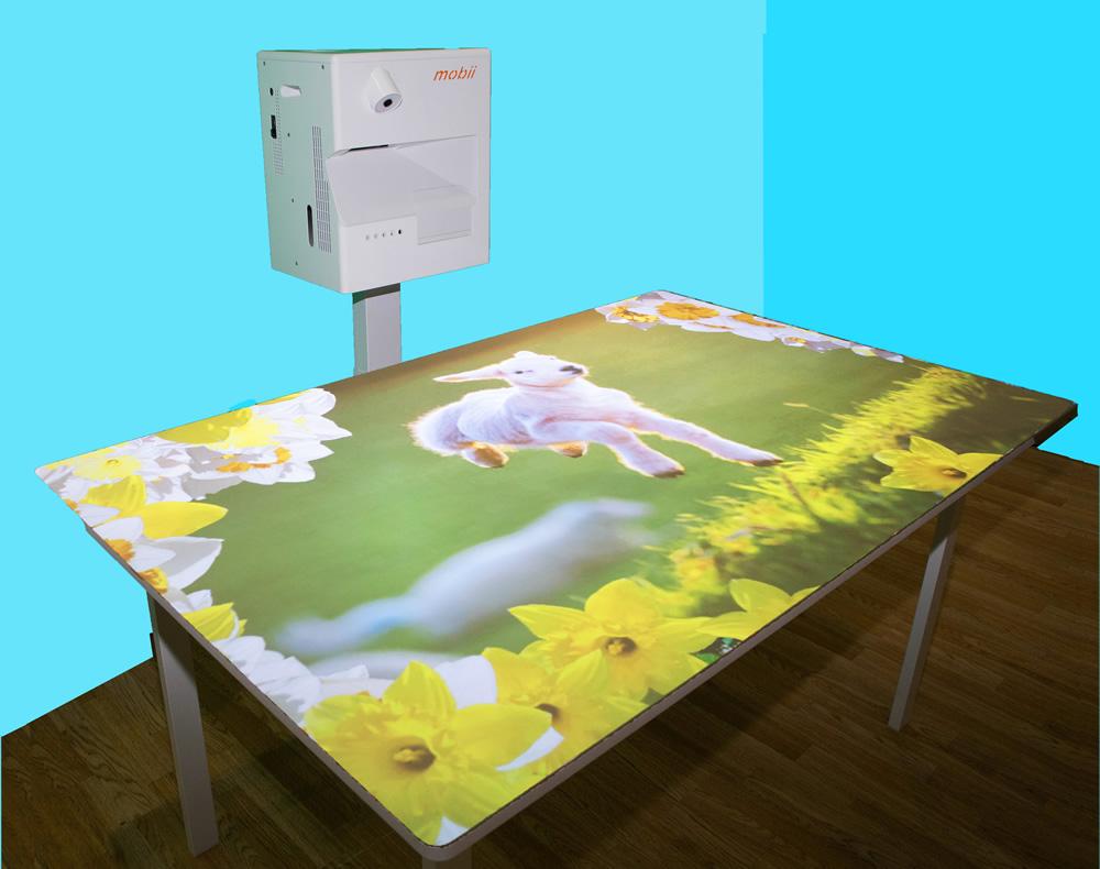オミ・ビスタ テーブル使用例