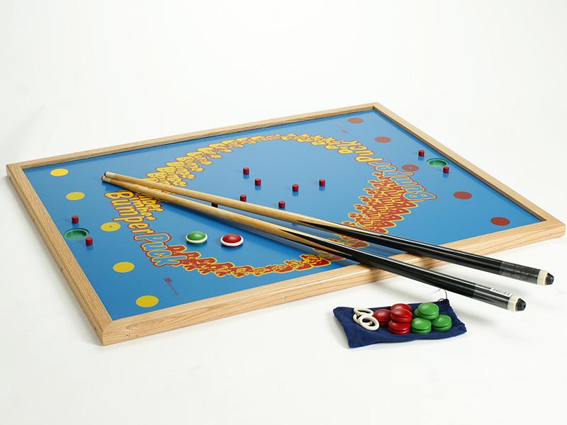 ビリヤード感覚で楽しめるバンパーパックゲーム