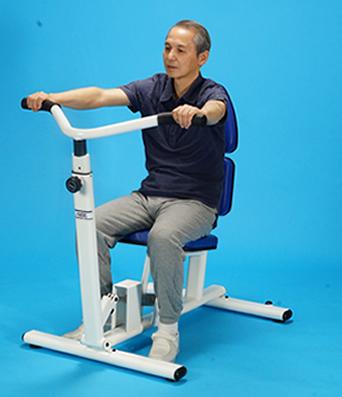 肘のレーニング ベンチプレス/プル【油圧トレーニング機器/ソフトラインシリーズ】